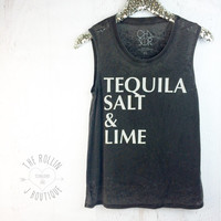 Chaser Salt Tequila Lime Tunic