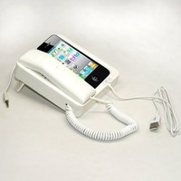 Tsirtech Phone Handset and Sync Stand for iPhone 4, 3GS, 3G, and Other Wireless Phones with 3.5 mm Headphone Jack