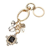 Juicy Couture Bead & Heart Key Chain