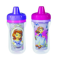 The First Years Disney Junior Sofia The First Insulated Sippy Cup, 2 Count