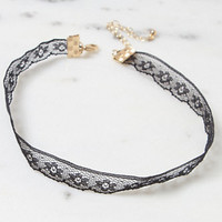 LA Hearts Lace Choker at PacSun.com