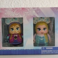 """Frozen Anna and Elsa Combo Pack Disney Vinylmation 3"""" inch Figure Limited Edition 1500"""