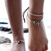 Cute Gift Shiny New Arrival Stylish Sexy Ladies Jewelry Beach Strong Character Innovative Yoga Ring Anklet [11762578703]