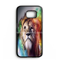 Amazing Lion Abstract Samsung Galaxy Note 7 Case   aneend