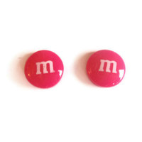 Candy Earrings - Hot Pink