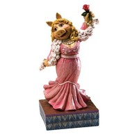 Disney Traditions designed by Jim Shore for Enesco Miss Piggy (The Muppet Show) Figurine 7.5 IN