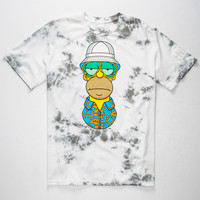 Neff X The Simpsons Hst Mens T-Shirt White Combo  In Sizes