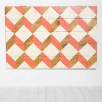 Oh My Wood! Geo Headboard-