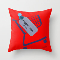Poppin Tags-Thrift Shop Song-Macklemore Throw Pillow by Laura Santeler   Society6