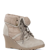 Northern Heights Booties in Taupe
