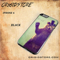 Hello Bear For Iphone 6 Case Gift Present - Multiple Choice Material