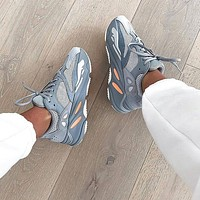 Adidas Yeezy 700 Runner Boost Fashion Women Men Casual Running Sport Shoes Sneakers