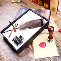 Harry Potter Feather Pen With Hogwarts School Admission Set