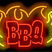 BBQ Grill Food Neon Sign