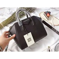 Givenchy fashion hot selling casual lady patchwork color shopping shoulder bag Black