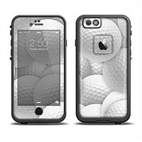 The Golf Ball Overlay Apple iPhone 6 LifeProof Fre Case Skin Set