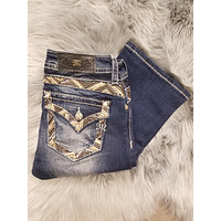 MISS ME MP7729SB MID RISE BOOT JEANS