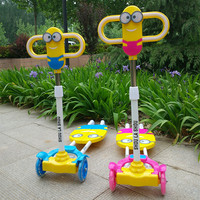 2016 Real Sale Bicicleta Infantil Kids Scooter Bikes Four Flash Wheels Breaststroke Baby Swing Bike Ride On Toy More Safety