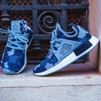 """""""Adidas"""" NMD XR1 Duck Camo Women Men Running Sport Casual Shoes Sneakers Camouflage blue"""