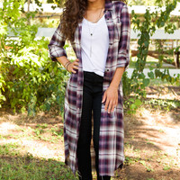 Astley Plaid Cardigan