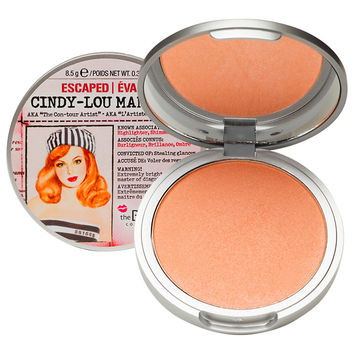 theBalm Cindy-Lou Manizer Highlighter Shimmer Shadow, Peachy Pink
