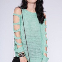 Alyssa Sweater- Mint