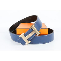 Hermes belt men's and women's casual casual style H letter fashion belt594