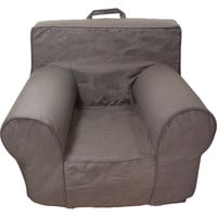 Chocolate and Khaki Chair Cover for Foam Childrens Chair