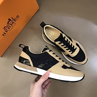 HERMES  Woman's Men's 2020 New Fashion Casual Shoes Sneaker Sport Running Shoes0329yph