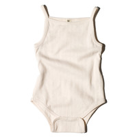Pointelle Tank Bodysuit, Rose
