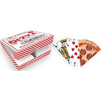 Pizza Playing Cards in Pepperoni Design