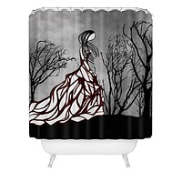 Amy Smith Lost In The Woods Shower Curtain