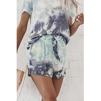 CHASER Silky Basic Tie Front Shorts