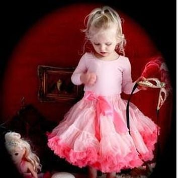Tutu Skirts for Girls Style Princess Baby Skirt Children Ruched Casual Summer Wear