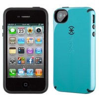Speck Peacock / Black CandyShell Case for Apple iPhone 4 / 4S
