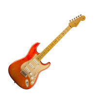 Fender Custom Shop 1956 Relic Stratocaster Electric Guitar - Candy Tangerine at Hello Music