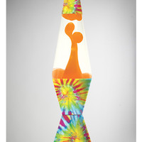 Tie Dye with Orange Lava 32oz Lava Lamp