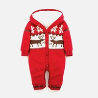 Thicken Winter Christmas One-piece [8341503105]