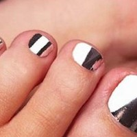 Silver Nail Foil: Get them Here! http://tinyurl.com/pvfdc97