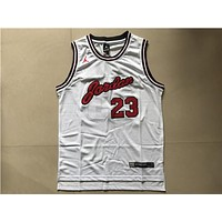 NBA Chicago Bulls #23 Jordan Commemorative Edition Swingman Jersey