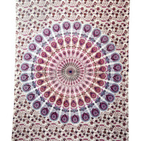 Mandala Tapestry Hippie Wall Hanging Throw Psychedelic Ethnic Wall Decor 5470