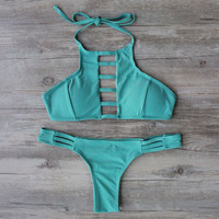 Bikini Set Swimsuit Bathing Suit Bandage Bikini