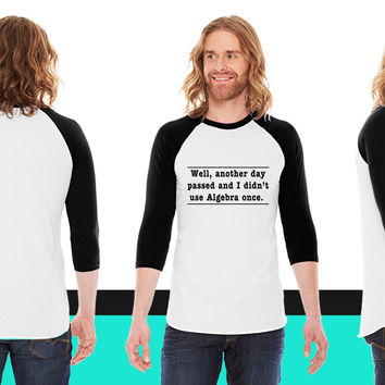 Welcome To The Dark Side We Lied About The Cookies_ American Apparel Unisex 3/4 Sleeve  American Apparel Unisex 3/4 Sleeve  American Apparel Unisex 3/4 Sleeve  American Apparel Unisex 3/4 Sleeve T-Shirt
