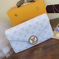 Louis Vuitton LV small square bag casual fashion shoulder bag