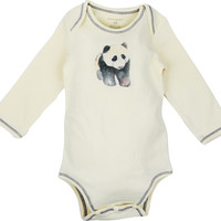 Watercolor Bodysuit - Panda