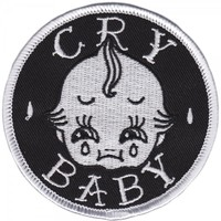 SOURPUSS CRY BABY PATCH - Sourpuss Clothing