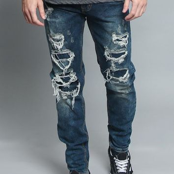 Distressed Illusion Jeans