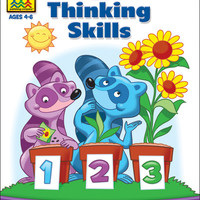 Preschool Workbooks 32 Pages-Thinking Skills