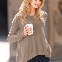 The Swing Sweater - A Kiss of Cashmere - Victoria's Secret