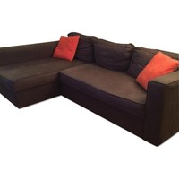 Ikea Fold-Out Couch with Storage